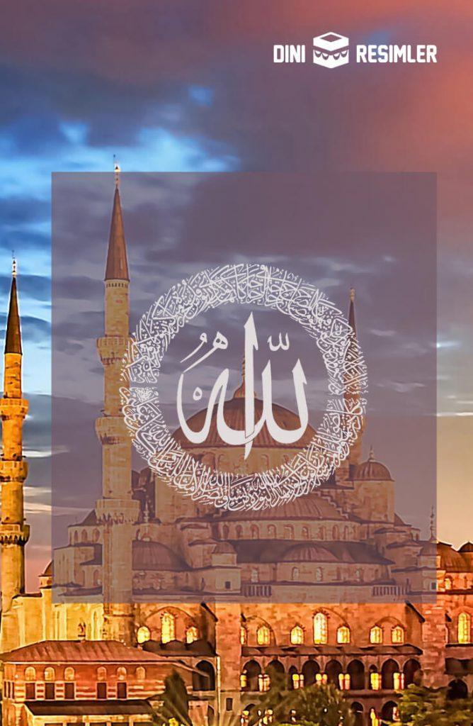 en güzel Allah yazıları